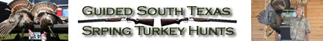 South Texas Spring Turkey Hunting